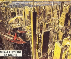 Mega City 1 The Future?