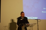 Sir Howard Bernstein speaking at the launch of the I-Discover programme